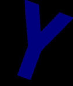 Lymphocyte B Antibody Secretion Blue Clip Art at Clker.com.