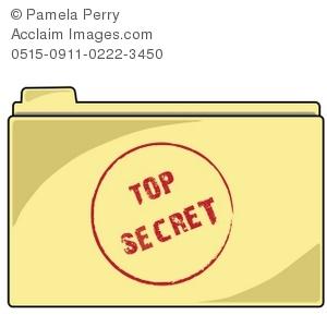Secret Agent Printable Clipart.