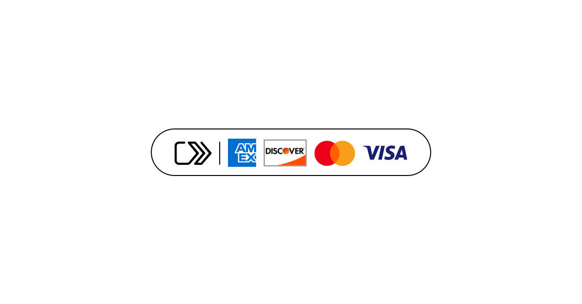 American Express, Discover, Mastercard and Visa Implement.