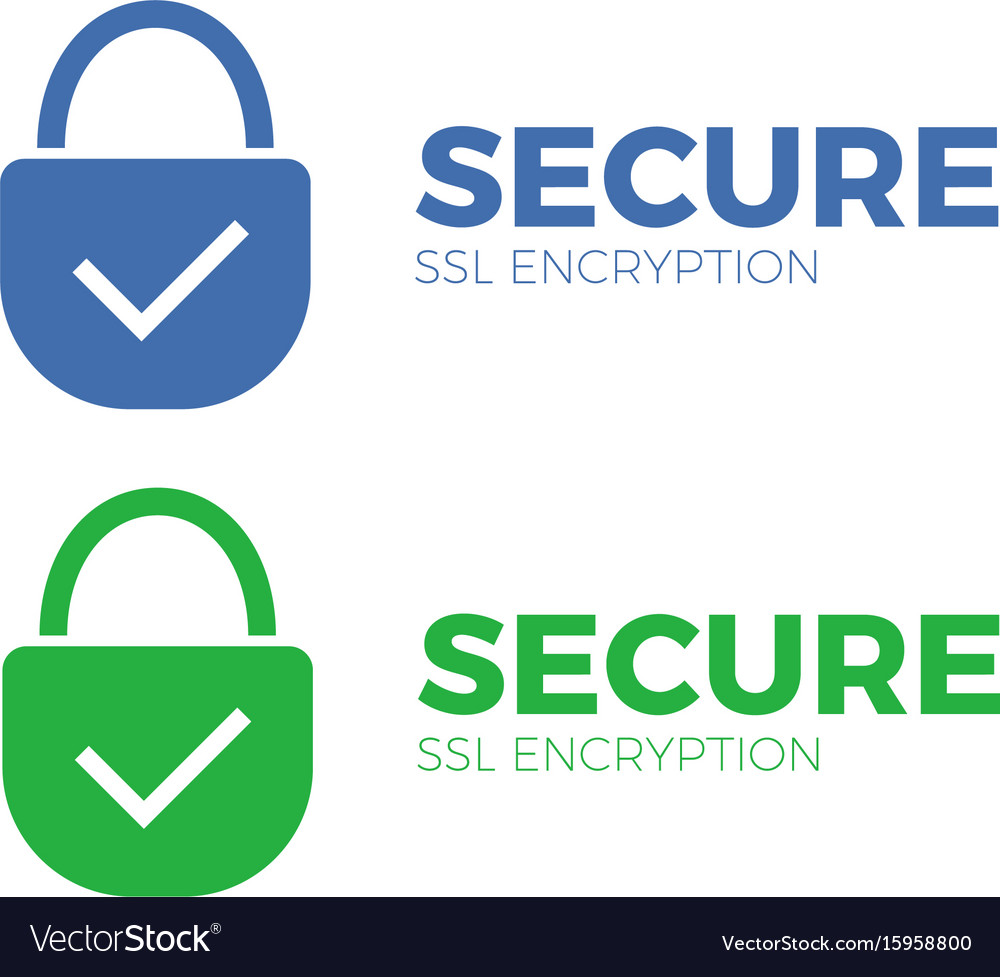 Secure payment icon ssl encryption transaction.