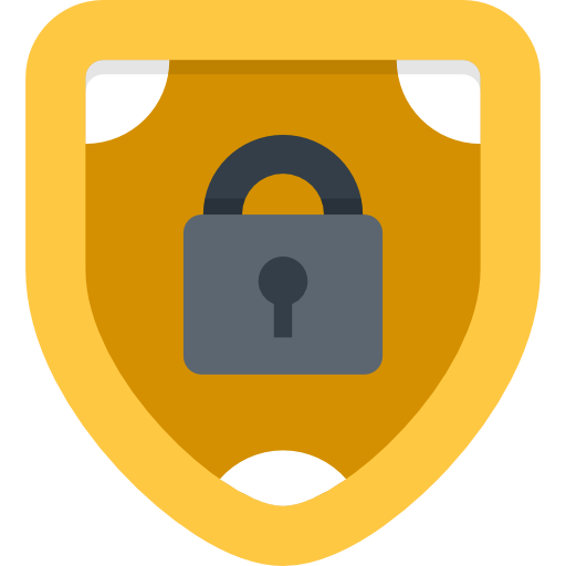 Antivirus, shield, ui, defense, secure, security icon.