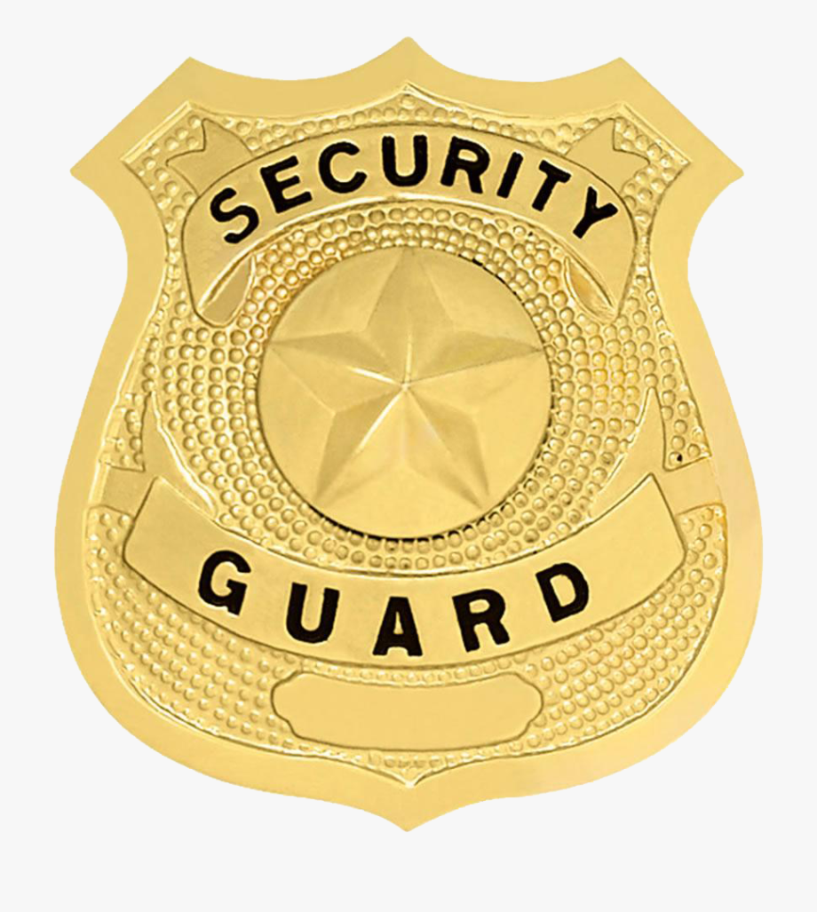 Security Guard Badge Clipart , Png Download.