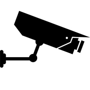 Security cameras clipart.