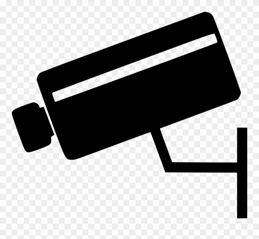 Image Free Stock Clipart Security Camera.