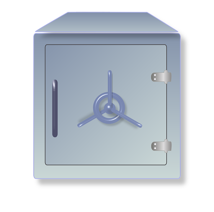 Free vector graphic: Vault, Strongbox, Safe.