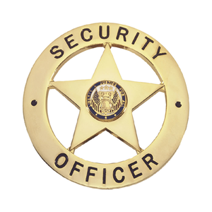 Security Guard Badge Clipart.