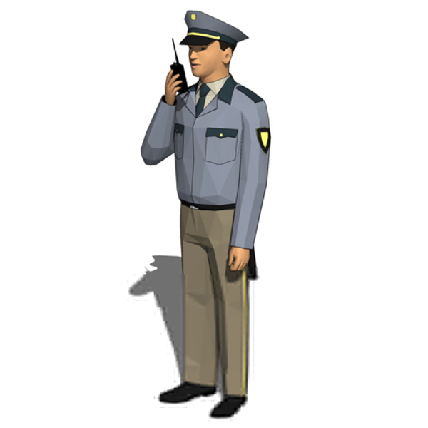 Clipart Of Security Guards.