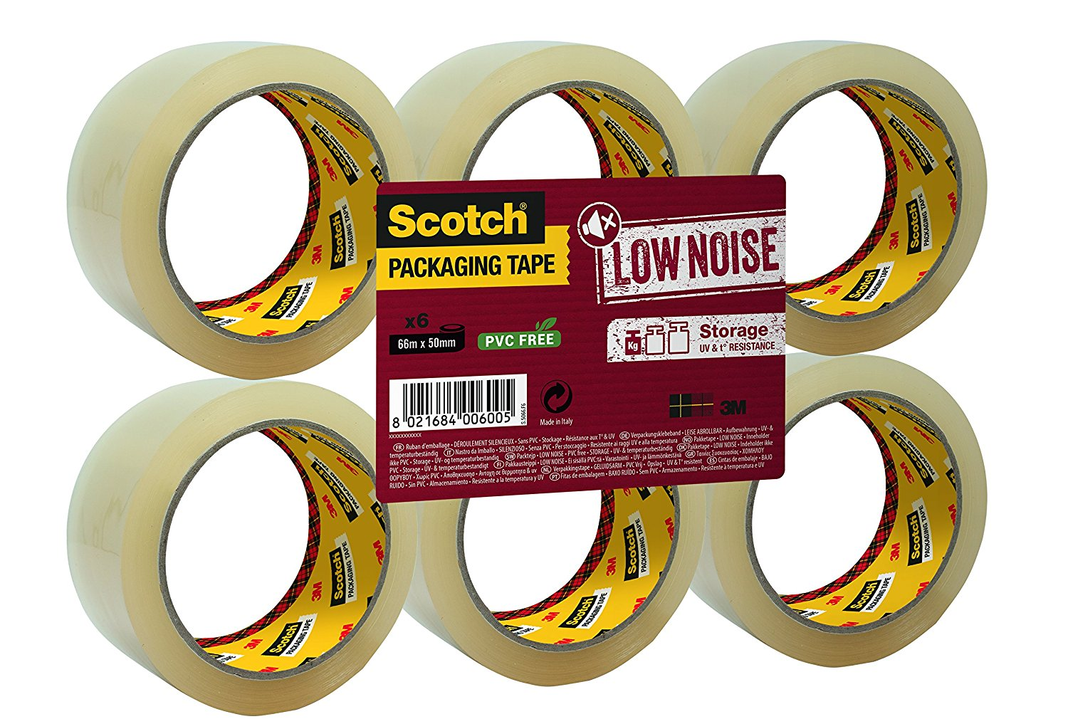 Scotch Storage Packing Tape.
