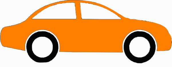 Orange Sedan Clip Art at Clker.com.