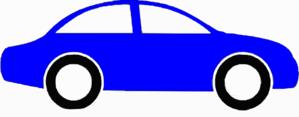 Blue Sedan Clip Art at Clker.com.