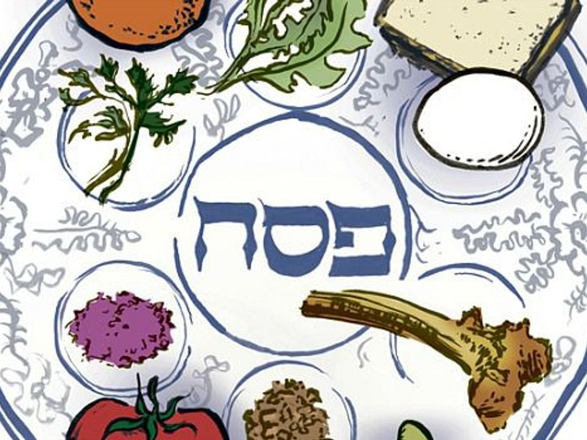 A Statement on Your Seder Plate.