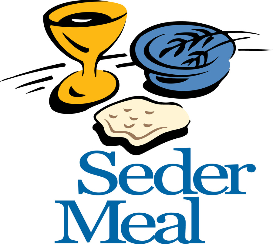 Download seder meal clipart A Passover Seder Clip art.