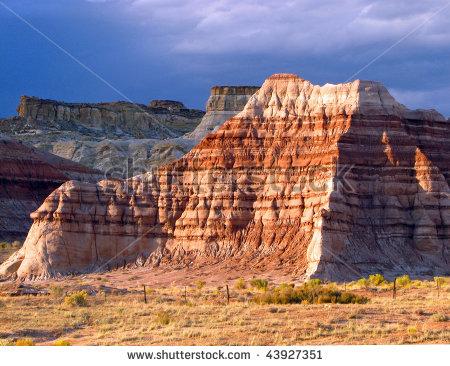 Sedimentary Rock Stock Photos, Royalty.