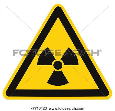 Stock Illustrations of Radiation hazard symbol sign of radhaz.