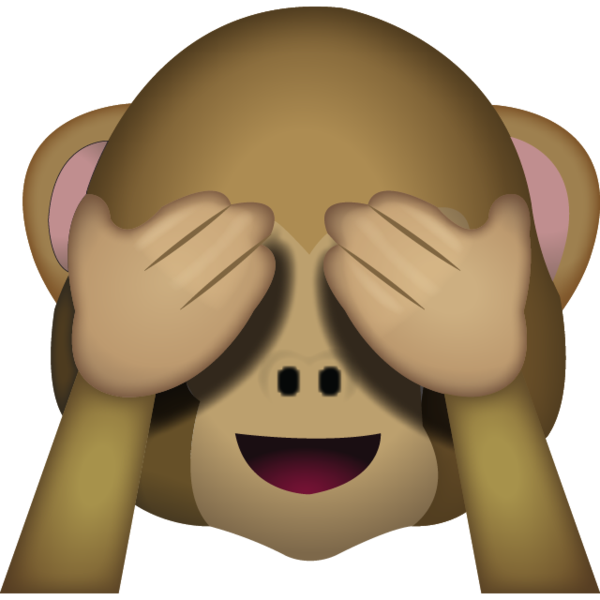 See No Evil Monkey Emoji.