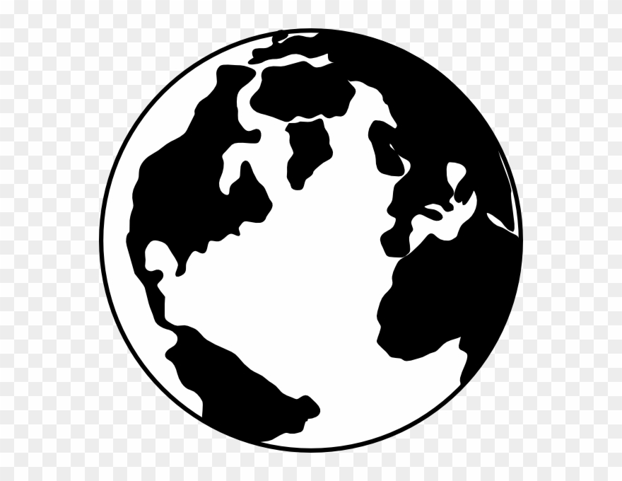 Earth Clipart Silhouette.