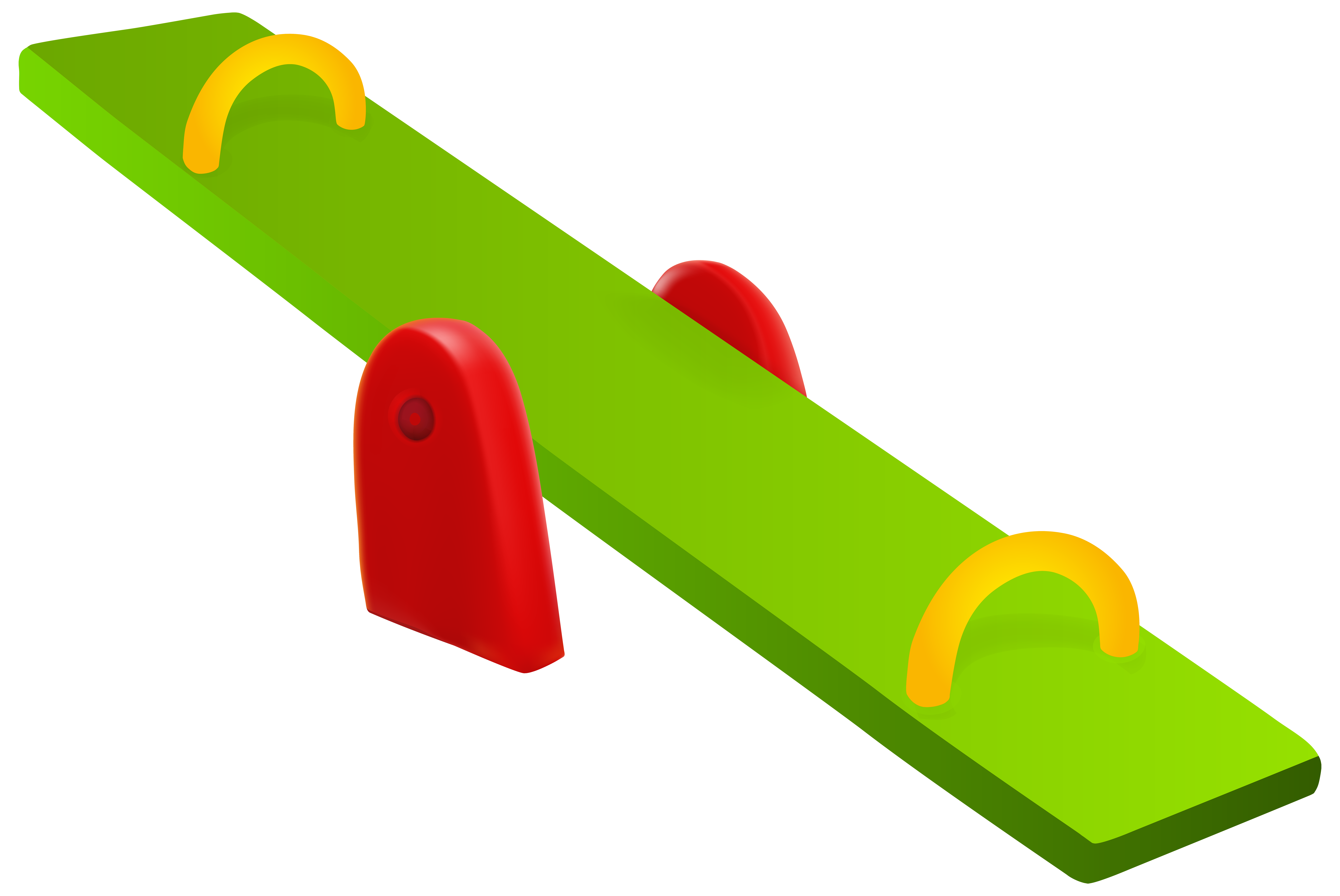 Seesaw PNG Clip Art.