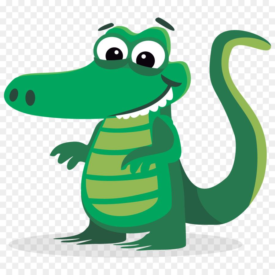 Alligator Cartoon clipart.