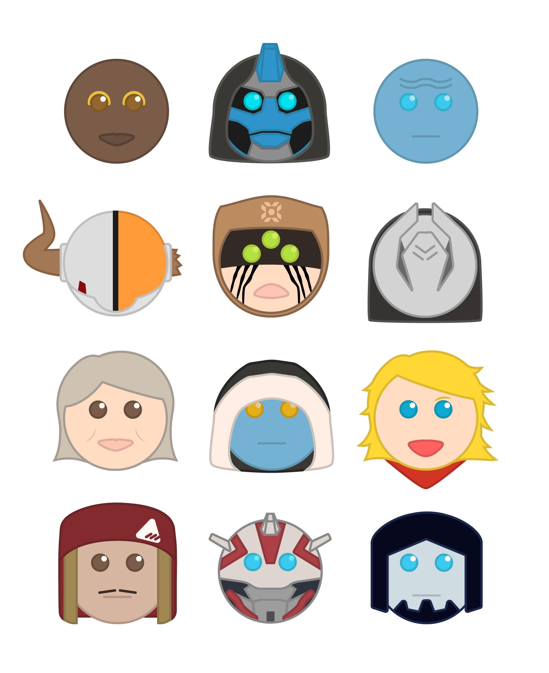 Destiny Emoji.