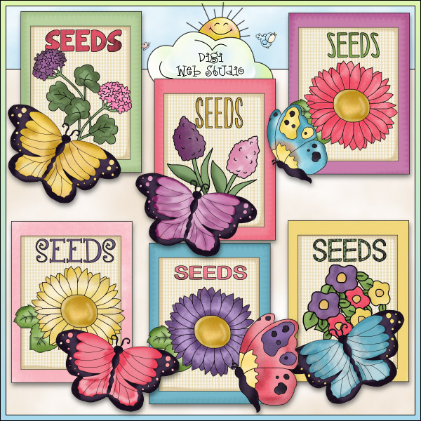 Butterfly Seed Packets 1.