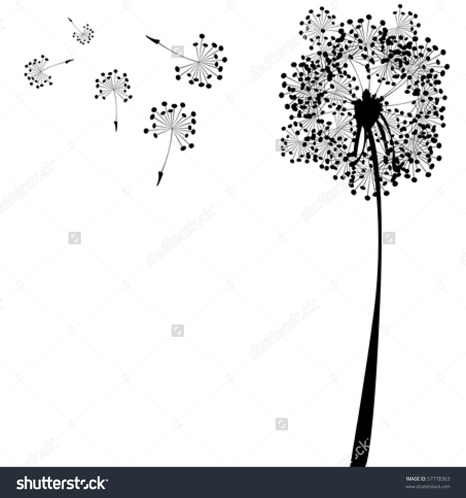 Similiar Abstract Dandelion Clip Art Keywords.