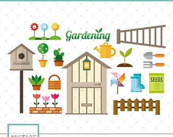 Gardening clipart.