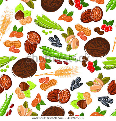 Nuts And Seeds Stock Photos, Royalty.