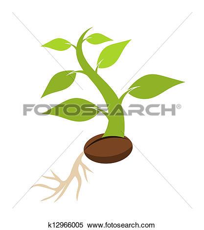 Clipart of Spring seedling k13577274.
