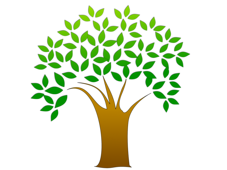 Tree Cleanup Clipart.