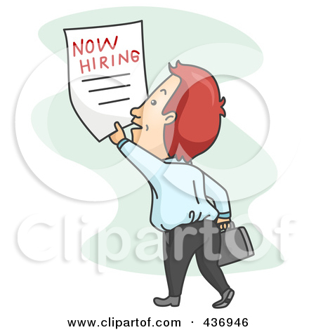 Free christian job seekers clipart images.