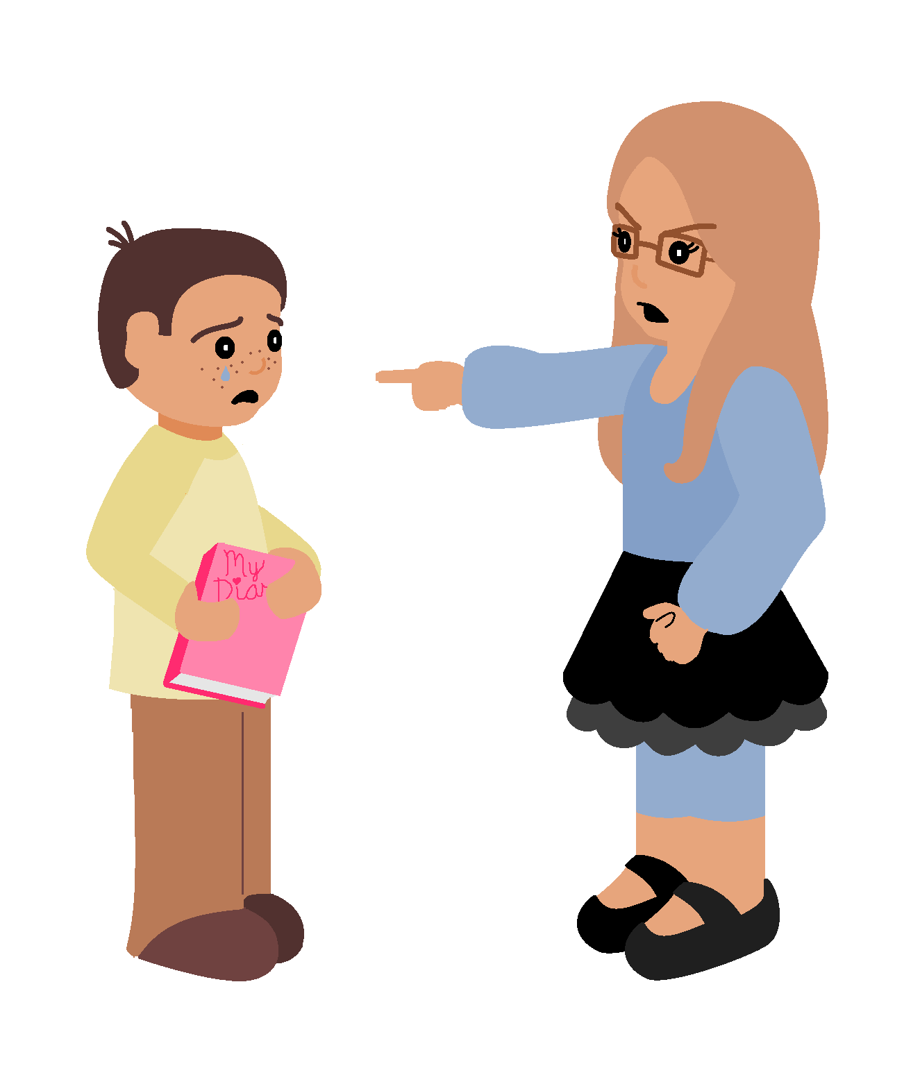 Unkind clipart.