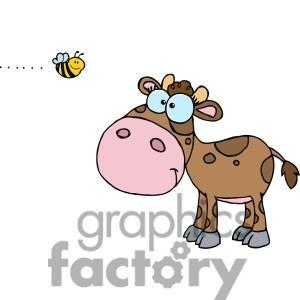 Little Cow Clipart.