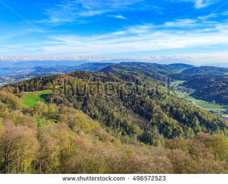 Uetliberg Stock Photos, Royalty.