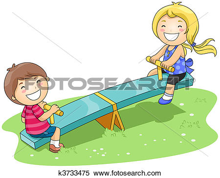 Seesaw Illustrations and Clipart. 882 seesaw royalty free.