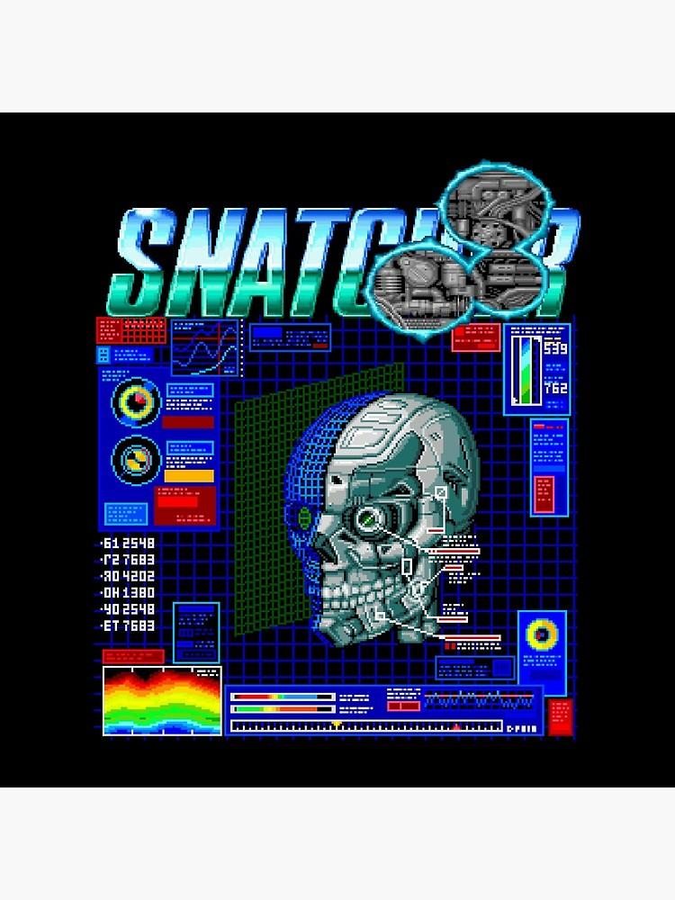 Snatcher (Sega CD) Logo v3.0.