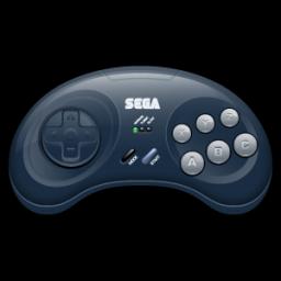 Free Icons: Sega Mega Drive Alternate Icon.