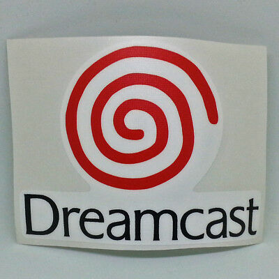 Sega Dreamcast Logo Sticker Vinyl Decal NO Video Game.