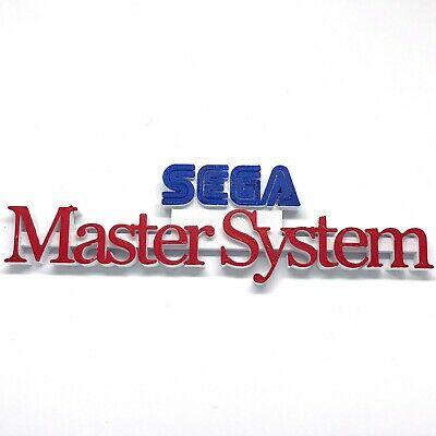 SEGA MASTER SYSTEM Video Game Shelf Display.