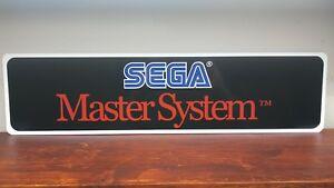 Details about Sega Master System logo Aluminum sign.