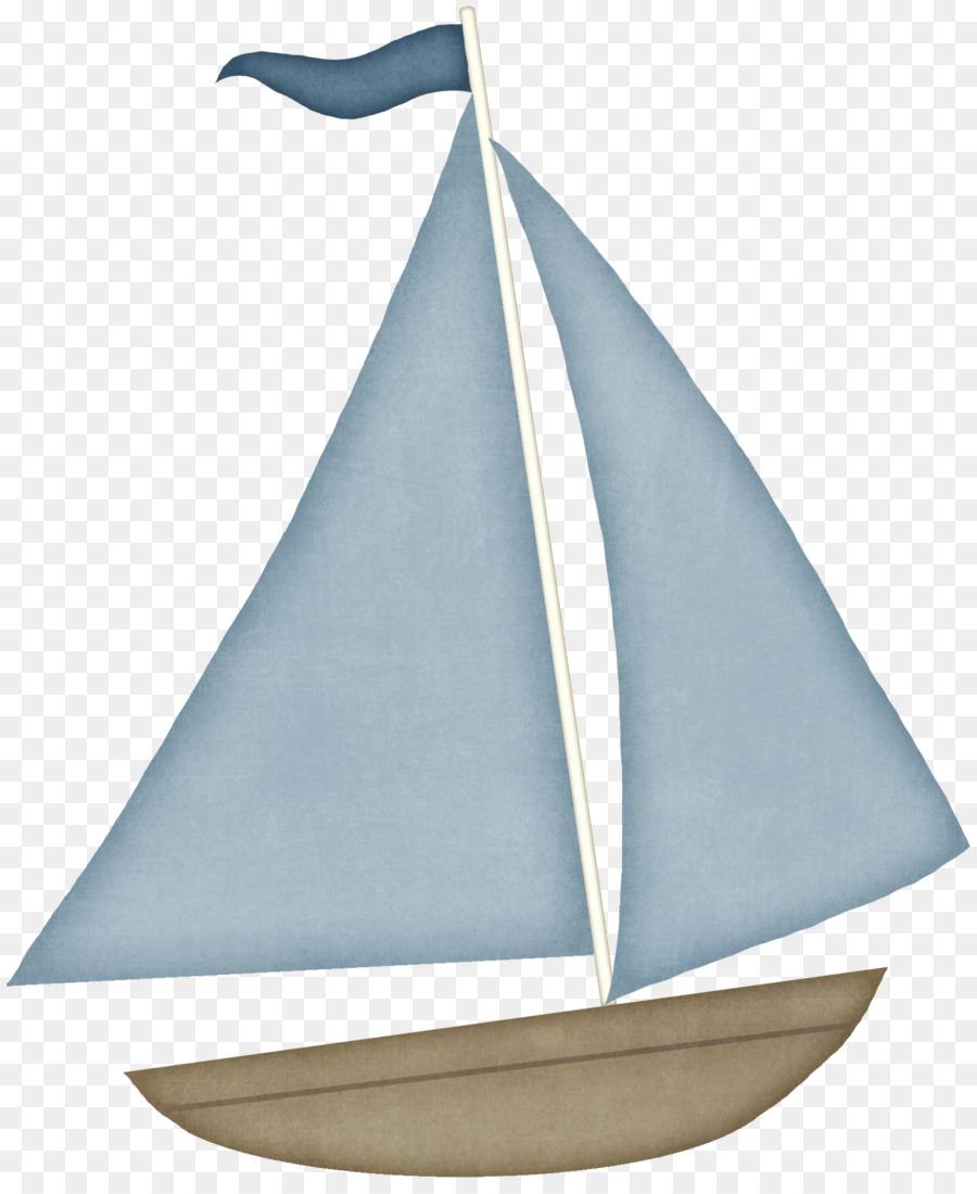 Segelboot clipart.