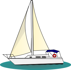 segelboot cliparts, clipart.