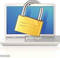 Seguridad Informática vectores en stock.