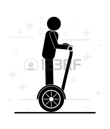 810 Segway Stock Vector Illustration And Royalty Free Segway Clipart.