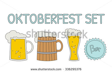 Beer Stein Silhouette Stock Photos, Royalty.