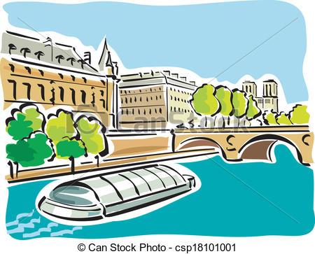 Seine river Stock Illustrations. 165 Seine river clip art images.