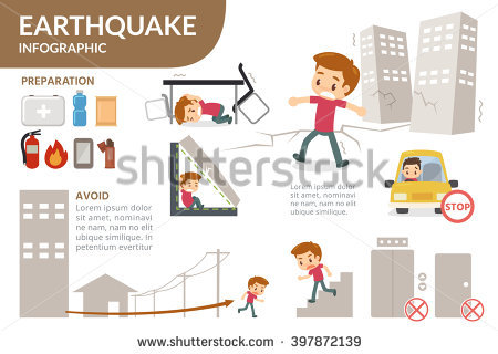 Earthquake Stock Photos, Royalty.