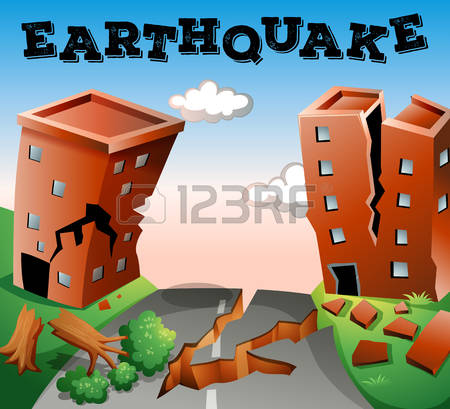 4,571 Earthquake Cliparts, Stock Vector And Royalty Free.