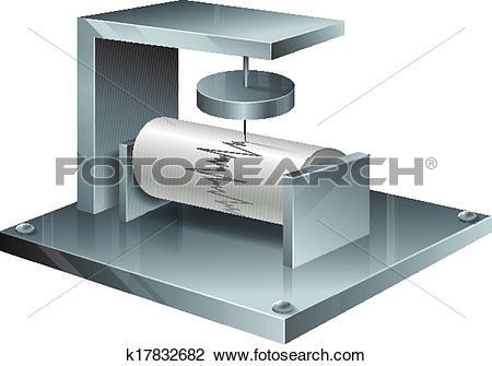Seismograph Clip Art Illustrations. 34 seismograph clipart EPS.