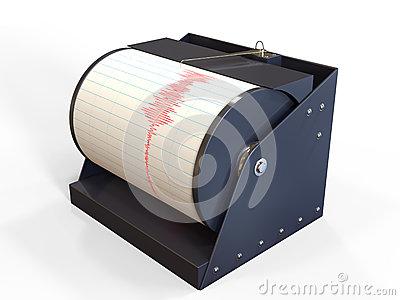 Seismometer Stock Illustrations.