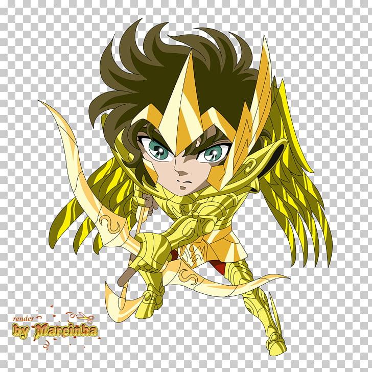 Pegasus Seiya Chibi Art Anime Saint Seiya: Knights of the.